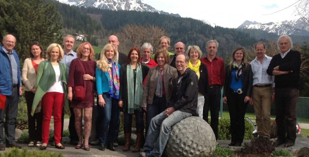 Die Vertreter der Abendgymnasien Österreichs - April 2013