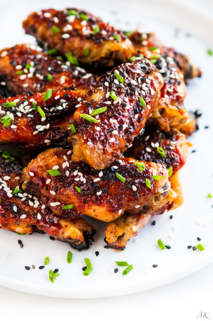 ... recipe for Sweet and Spicy Baked Orange Chicken Wings in 3…2…1