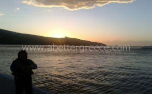 Kythnos fishing Greece