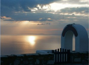 Tinos churches Cyclades Greece