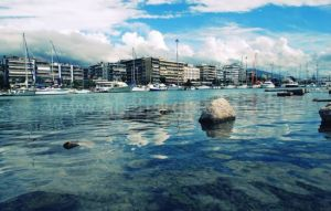 Patras seaside in Greece