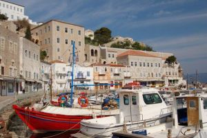 Welcome to Hydra island in Greece