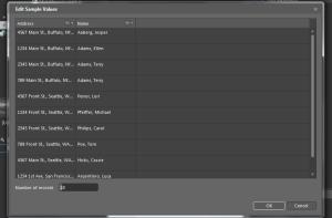 Expression Blend 4 : Edit Sample Values