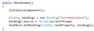 WPF Binding in Code