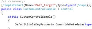 WPF Custom Control