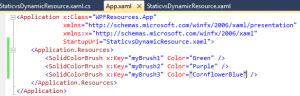 WPF Resource Hierarchy