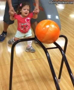 bowling inclusive sport ball ramp