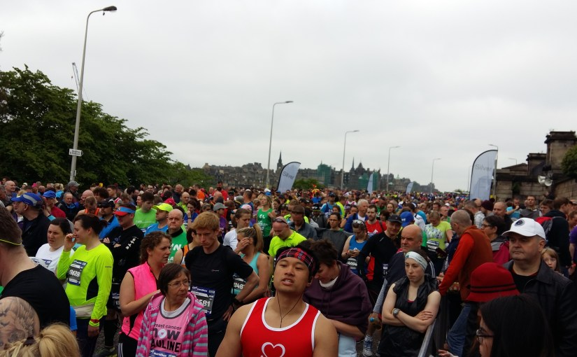 The Edinburgh Marathon And The Busted Knee