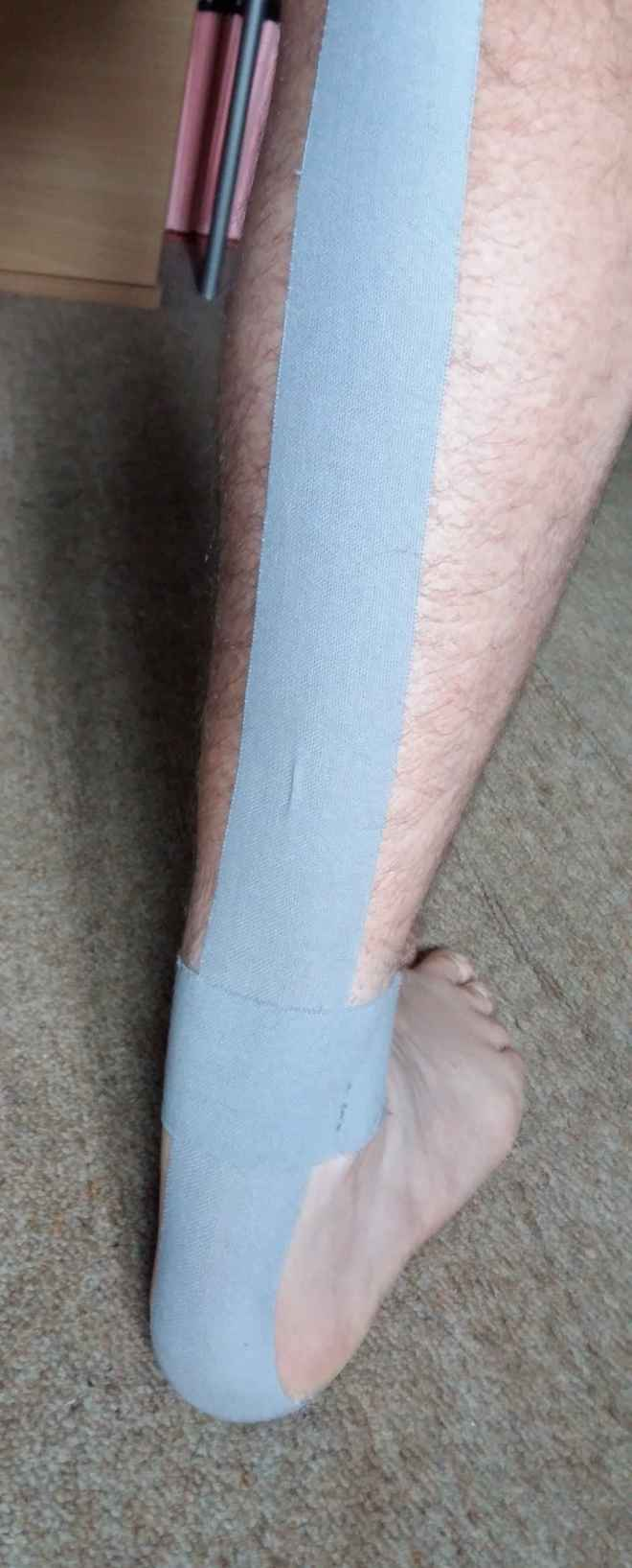 ankle taping pic