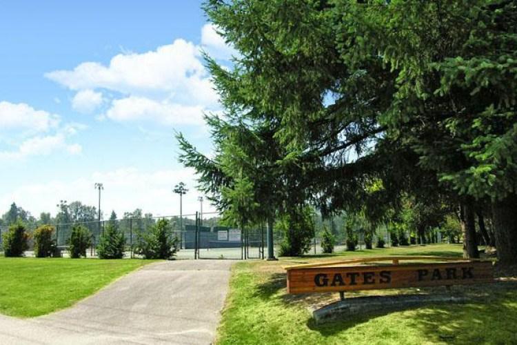 Gates Park, Port Coquitlam, BC - Tennis Courts