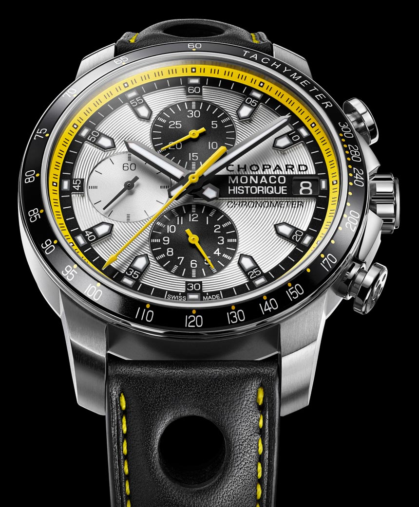 Chopard Grand Prix de Monaco Historique Chrono Watch In Yellow & Black For 2014 watch releases