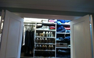 closet lights on