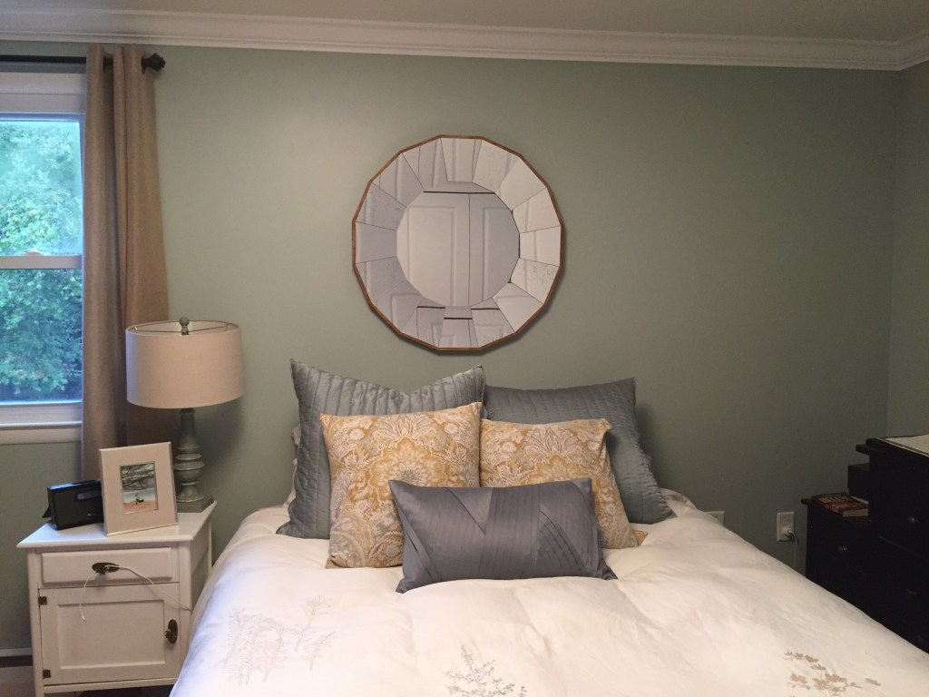 Mirror in master bedroom (1)