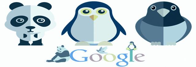 Google Panda, Pingouin pigeon la différence expliquée a un chef d'entreprise