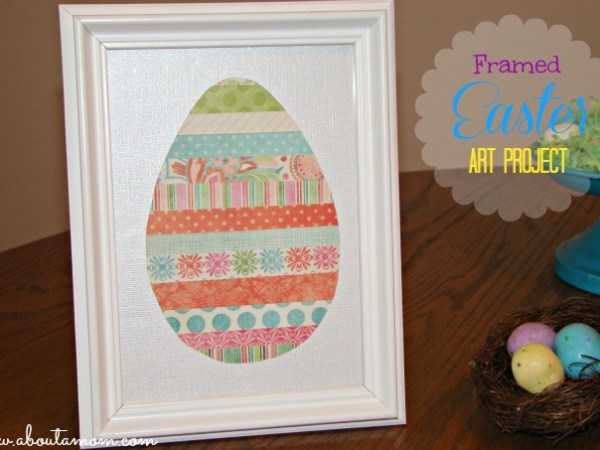 ABOUT A MOM - EASTER EGG PAPER PROJECT