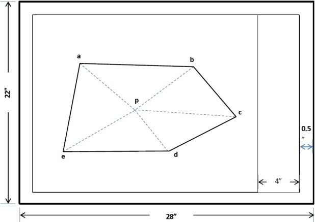 Radiation Method Of Plane Table Survey
