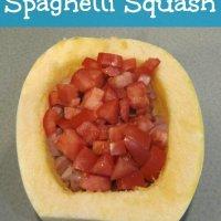 Easy Microwave Spaghetti Squash