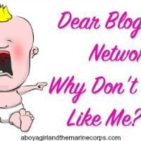 Dear Blogger Networks: Why Don't You LIKE Me?