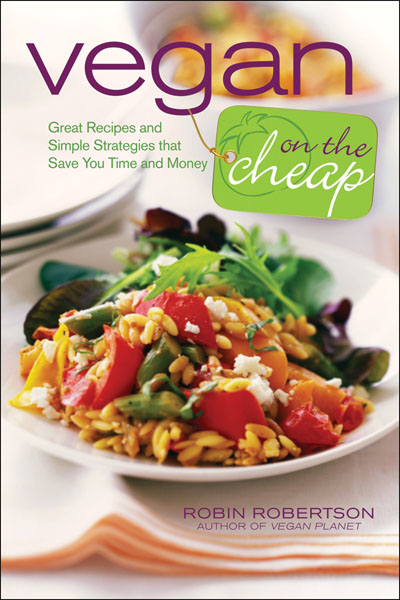 vegan on the cheap by robin robertson