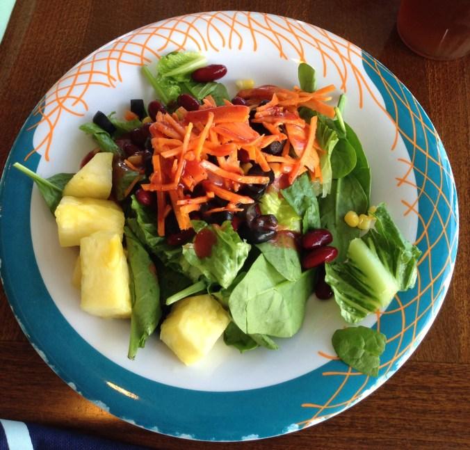 vegan lunch on royal caribbean cruise