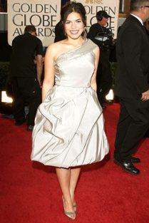 America Ferrera en los Golden Globes 2009