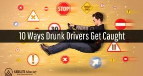 10 Ways Drunk Drivers Get Caught
