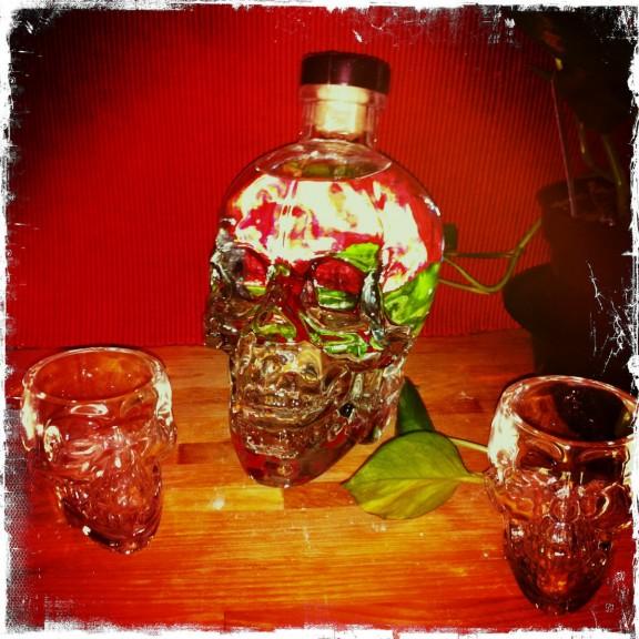 Crystal head vodka goth