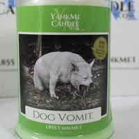 Candele al vomito di cane - L'idea ragalo perfetta per il vostro Natale