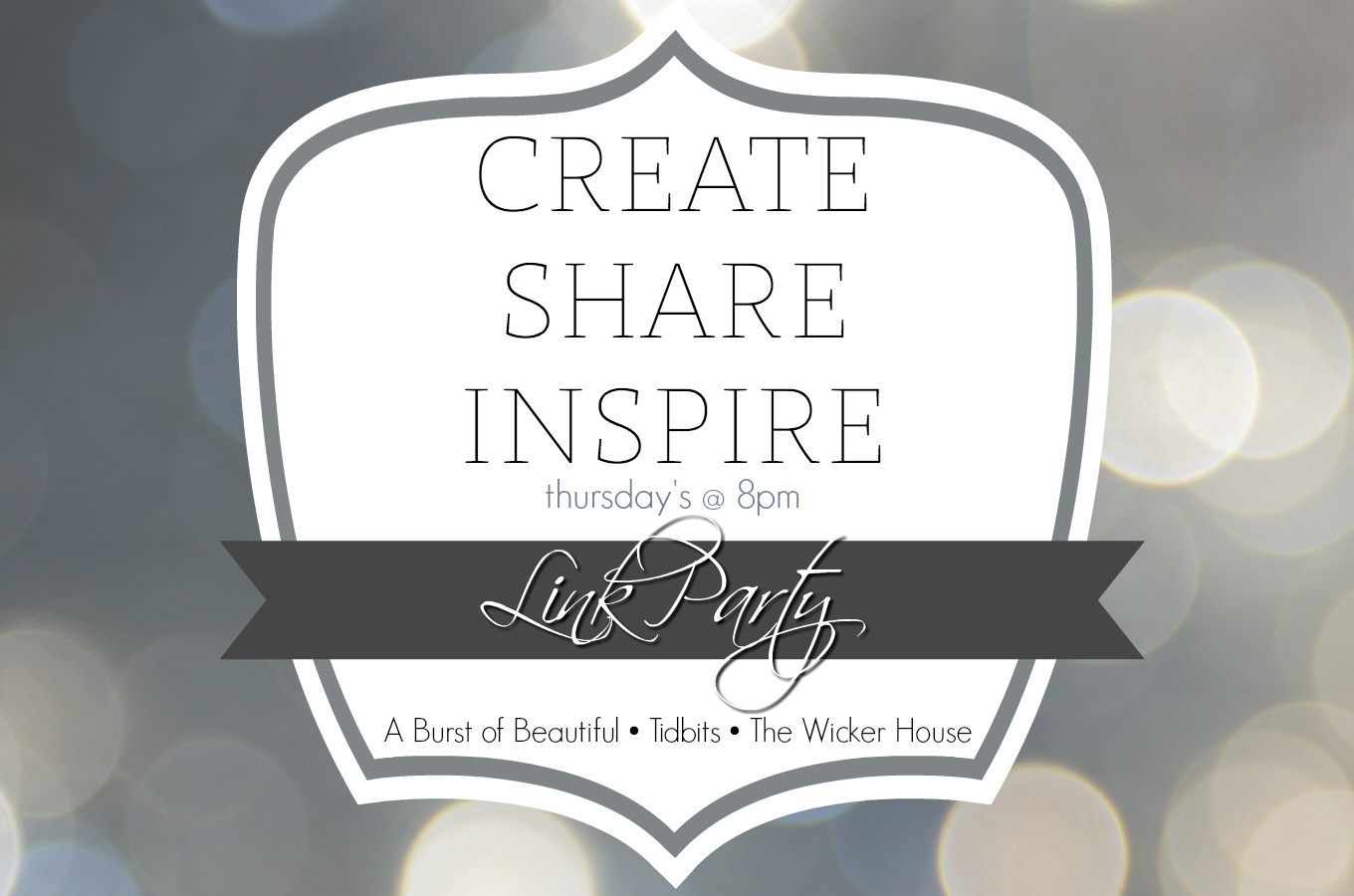 Create Share Inspire Link Party