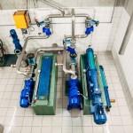 Pumpanlage Taxertal Innenansicht