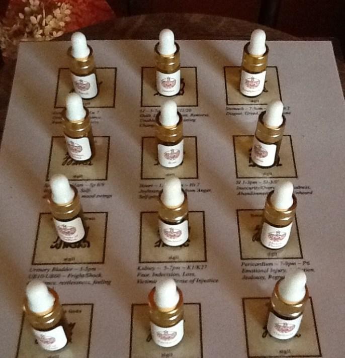 12 FA oils on sheet