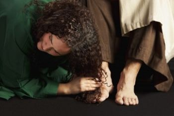 sinful woman washed jesus feet