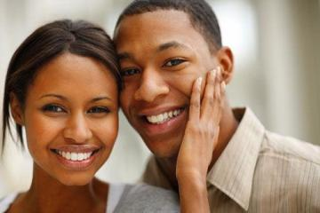 Young Black Couples