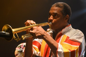 Femi Kuti And The Positive Force Perform In London