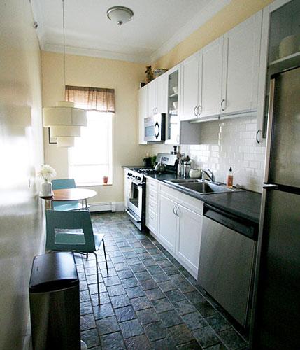 peque as cocinas organizadas en un solo frente On cocinas angostas y pequenas