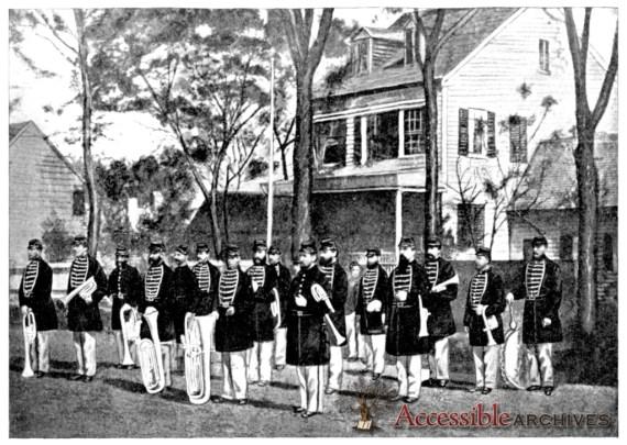 Forty Fifth Regiment Massachusetts Volunteer Militia Cadet Band