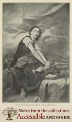 Jeanne Listening to the Spirits by L. Benonville