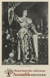 Jeanne d'Arc by Ingres