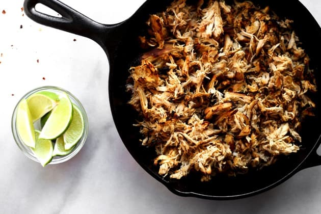 Slow Cooker Chicken Carnitas  1