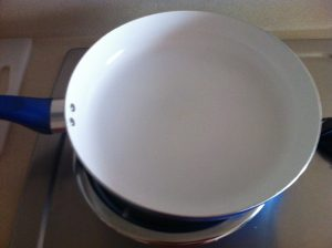 Porcelain Frying Pan