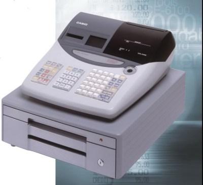 Casio TE-2000 Cash Register