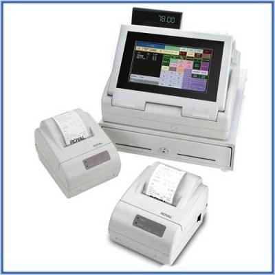 Royal TS4240 Touch Screen Restaurant Cash Register