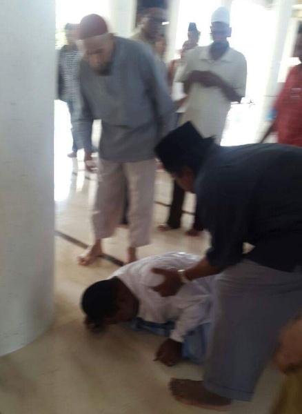Jemaah Masjid Ulee Kareng Meninggal Saat Sujud