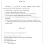 Atividade de língua portuguesa: Pontuação – 4º ou 5º ano