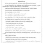 Interpretação de texto: a galinha ruiva – 4º ou 5º ano