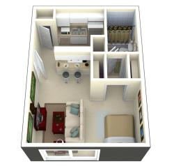 Small Of 300 Sq Ft