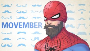 movember spiderman