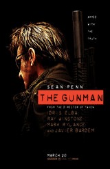 The Gunman stars Sean Penn