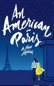 "Gershwin's ""An American in Paris"" opens April 12th at the Palace Theater"