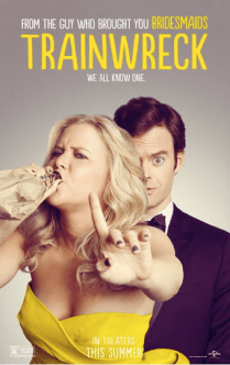 Trainwreck starring Amy Schumer and Bill Hader